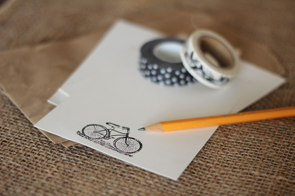 bike pencil stationary