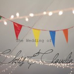 Chris & Claudia                                {The Wedding of Rainbows and Raindrops}