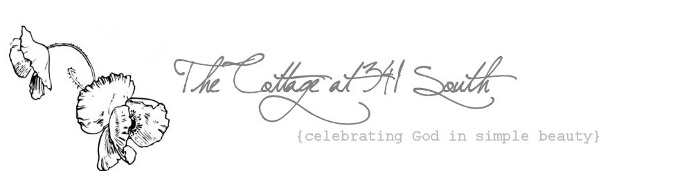 The Cottage at 341 South – celebrating God in simple beauty