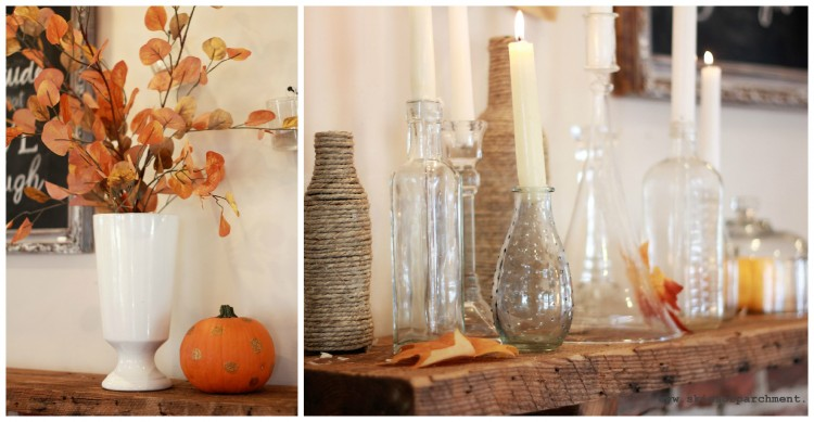 autumn mantel 3