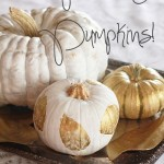 Of Painting Pumpkins
