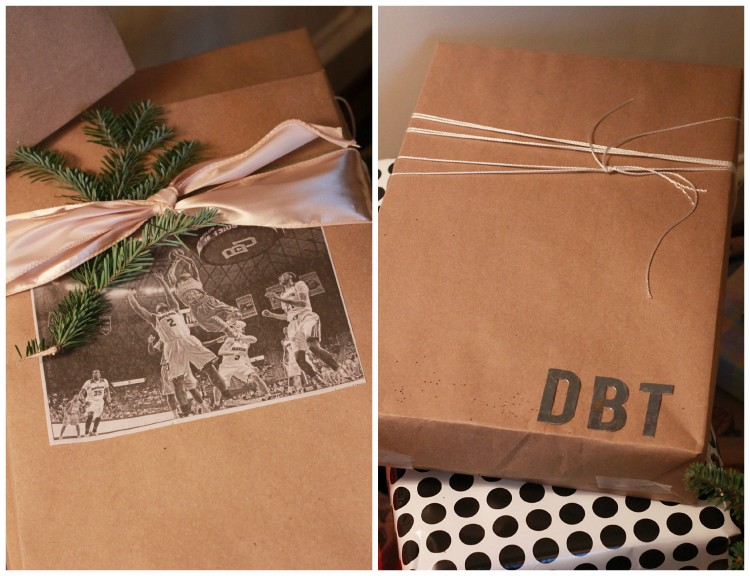 masculine gift wrap styles