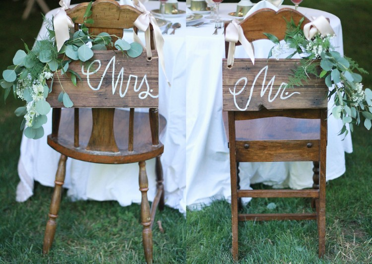 mr & mrs chairs