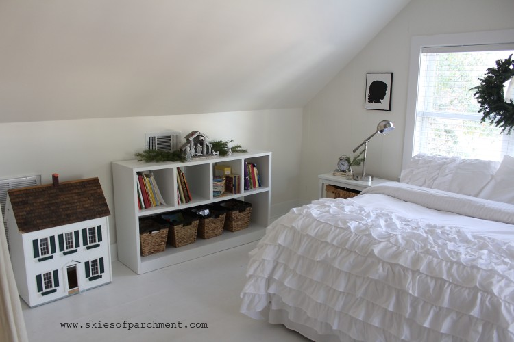 An Attic Bedroom Before Amp After Skies Of Parchment