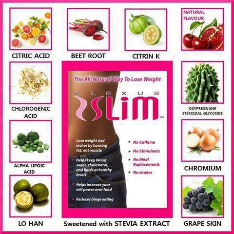 4 plexus slim ingredients