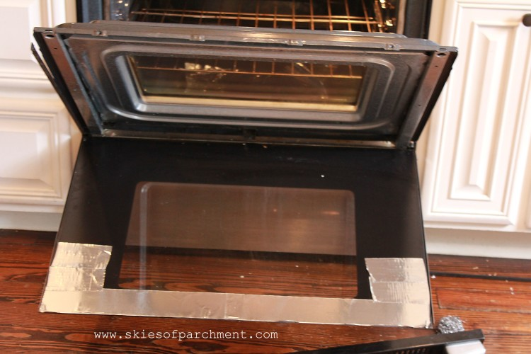 how to get an oven door off